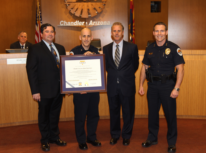 The chandler police department is the first police agency for Department of motor vehicles chandler az